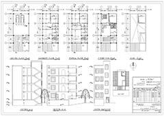 پلان دانشکده ی هنر و معماری،دانلود پلان دانشکده هنر و معماری