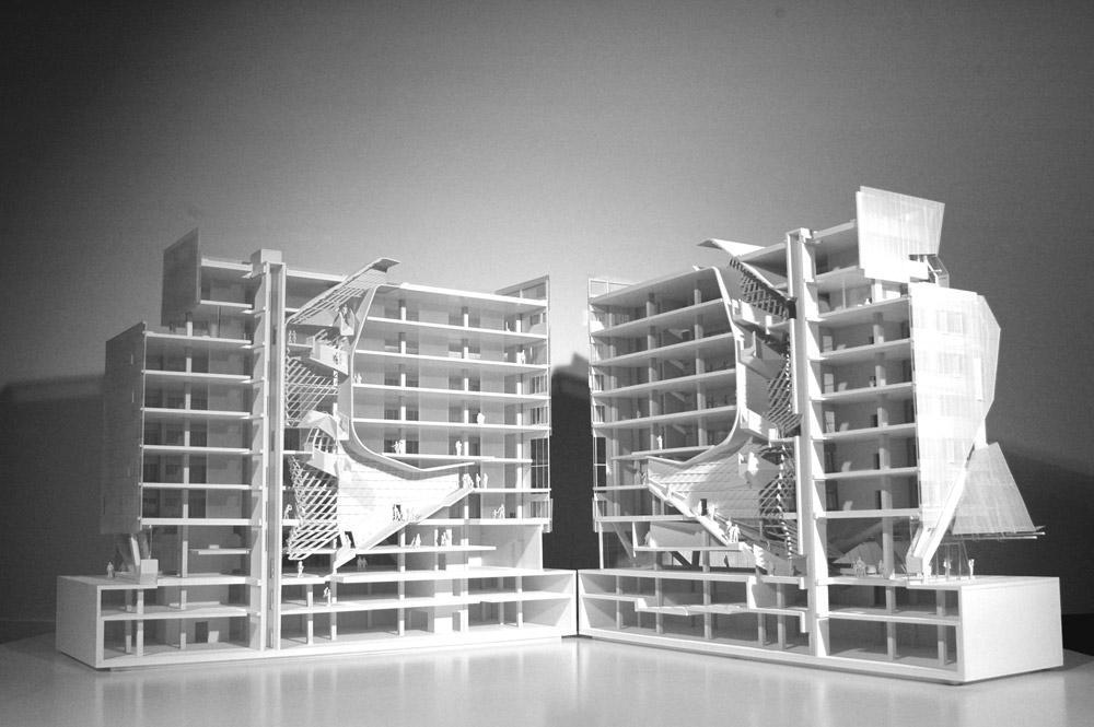 مدل مدرسه کوپر ، معماری مدرسه کوپر