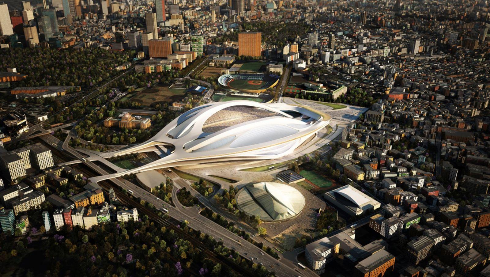 طرح پیشنهادی برای دهکده المپیک توکیو 2020
