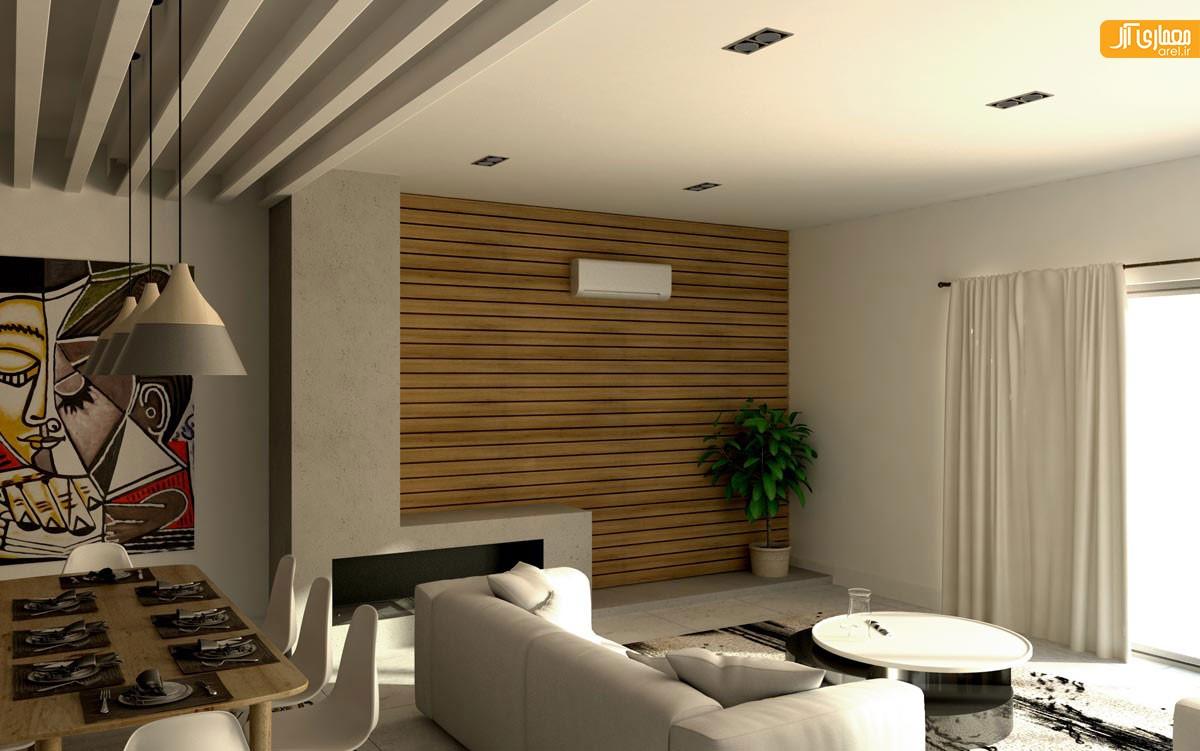 طراحی داخلی و چیدمان ویلا