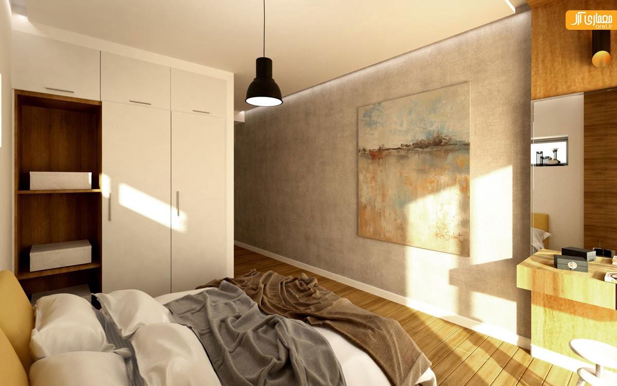 طراحی اتاق خواب ویلا