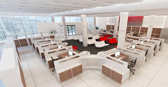 طراحی بانک ملت، شعبه ی فرهنگ