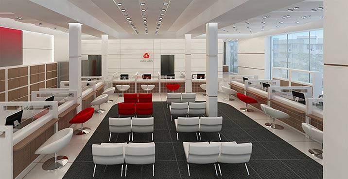 طراحی داخلی بانک ملت، شعبه ی فرهنگ