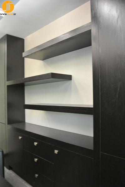 طراحی داخلی دفتر کار،دکوراسیون داخلی دفتر کار،معماری داخلی دفتر کار،عکس بعد از اجرا