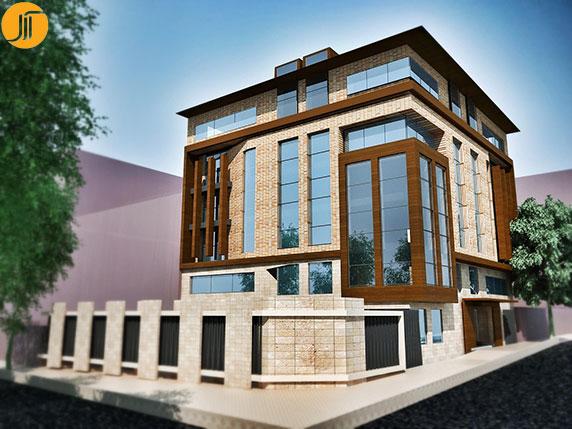 ساختمان مسکونی دروس(Daroos)