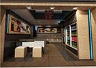طراحی داخلی آیس پک شعبه ی نیلوفر