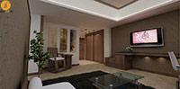 طراحی داخلی هتل آرنا