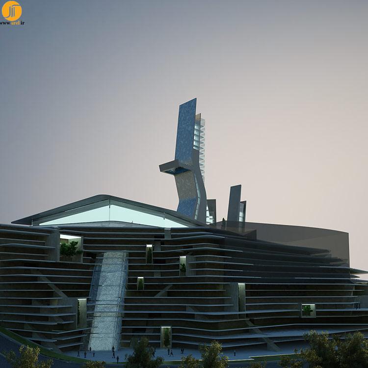 طراحی نمای هتل آرمنیا ، شرکت معماری