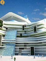 طراحی نمای هتل آرمنیا