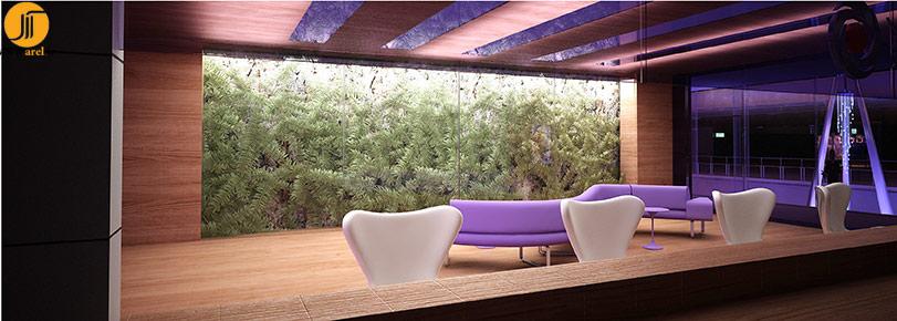 طراحی داخلی، بانک ایران زمین