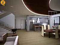 طراحی داخلی ویلا ویلای جم