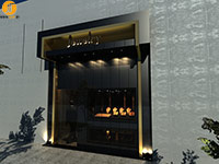 طراحی مغازه ی جواهرفروشی