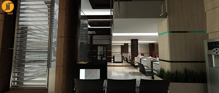 طراحی بانک تجارت، شعبه ی خردمند