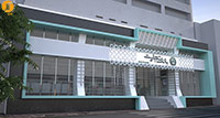 بانک تجارت شعبه خردمند ، طراحی داخلی و نما ، موقعیت :خرمند شمالی ، متراژ :175