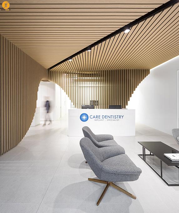 کلینیک دندانپزشکی Pedra Silva Architect