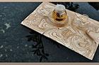 طراحی خلاقانه سینی چای مینیاتوری