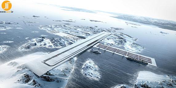 گروه بیگ ، کارهای گروه بیگ ،  معماری فرودگاه و بندر FGL کاری از گروه BIG